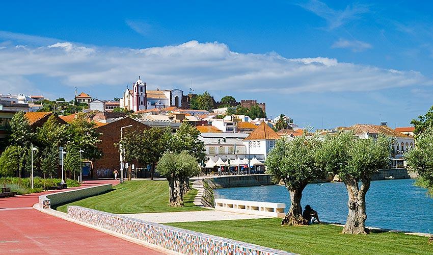 Silves, uma cidade no distrito de Faro, Portugal